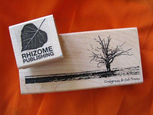 Rhizome stamps