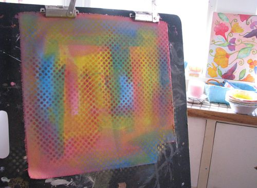 Painting fabric2