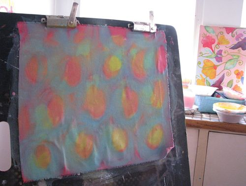 Painting fabric4