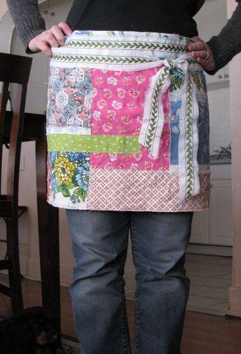 Patchwork apron, sm